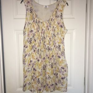 Old Navy Floral Swing Dress Size XL